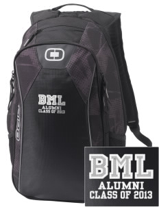 Bert M Lynn Middle School Leopards Embroidered OGIO Marshall Backpack
