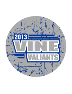 Vine Elementary School Valiants Sticker