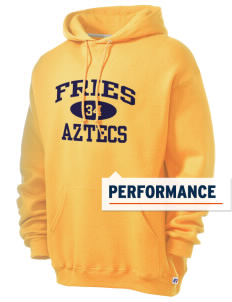 Fries Elementary School Aztecs Russell Men's Dri-Power Hooded Sweatshirt
