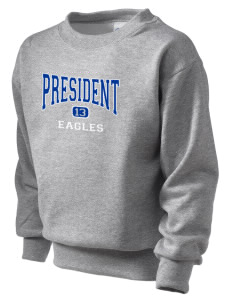 President Elementary School Eagles Kid's Crewneck Sweatshirt