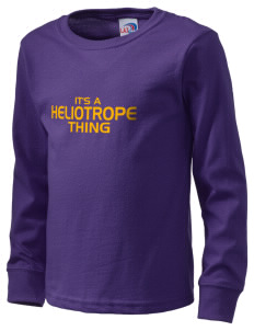 Heliotrope Elementary School Rams  Kid's Long Sleeve T-Shirt