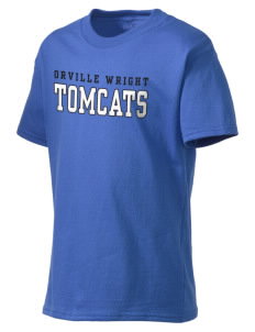 Orville Wright Middle School Tomcats Kid's Lightweight T-Shirt
