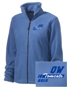 Orville Wright Middle School Tomcats Embroidered Women's Wintercept Fleece Full-Zip Jacket