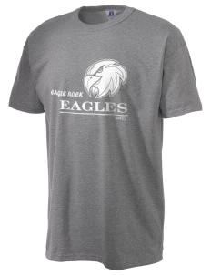 Eagle Rock High School Eagles  Russell Men's NuBlend T-Shirt