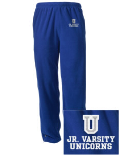 Union Elementary School Unicorns Embroidered Holloway Men's Flash Warmup Pants