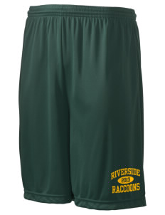 "Riverside Elementary School Raccoons Men's Competitor Short, 9"" Inseam"