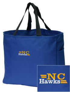 Neil Cummins Elementary School Hawks Embroidered Essential Tote
