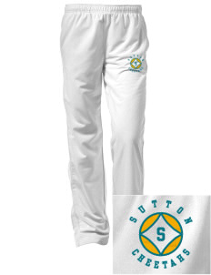 Sutton Elementary School Cheetahs Embroidered Women's Tricot Track Pants