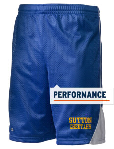 "Sutton Elementary School Cheetahs Holloway Men's Possession Performance Shorts, 9"" Inseam"