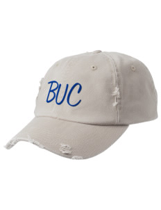 Brookside School Upper Campus Bears Embroidered Distressed Cap