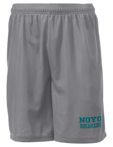"Noyo High School Mustangs Men's Mesh Shorts, 7-1/2"" Inseam"