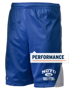 "Noyo High School Mustangs Holloway Men's Possession Performance Shorts, 9"" Inseam"