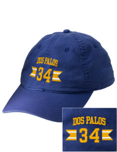 Dos Palos High School Broncos Embroidered Vintage Adjustable Cap
