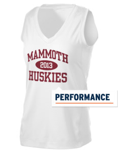 Mammoth High School Huskies Women's Performance Fitness Tank