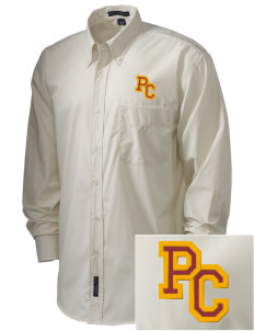 Pinnacles Continuation High School Eagles  Embroidered Men's Easy Care, Soil Resistant Shirt