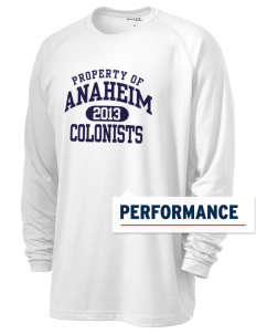 Anaheim High School Colonists Men's Ultimate Performance Long Sleeve T-Shirt