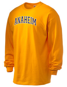 Anaheim High School Colonists 6.1 oz Ultra Cotton Long-Sleeve T-Shirt