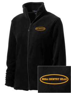 Brea Country Hills Elementary School Cougars Embroidered Women's Wintercept Fleece Full-Zip Jacket