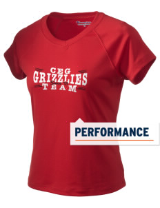 Carl E Gilbert Elementary School Grizzlies Champion Women's Wicking T-Shirt