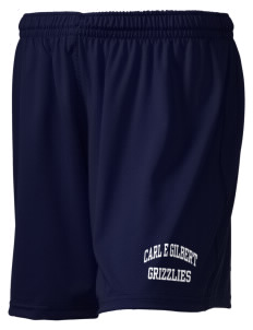 "Carl E Gilbert Elementary School Grizzlies Holloway Women's Performance Shorts, 5"" Inseam"