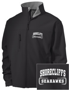 Shorecliffs Middle School Seahawks Embroidered Men's Soft Shell Jacket
