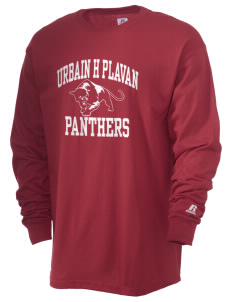 Urbain H Plavan Elementary School Panthers  Russell Men's Long Sleeve T-Shirt