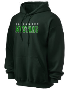Olivewood Elementary School Mustang Ultra Blend 50/50 Hooded Sweatshirt