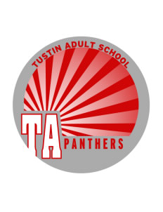 Tustin Adult School Panthers Sticker