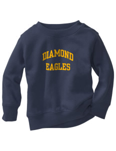 Diamond Elementary School Eagles Toddler Crewneck Sweatshirt