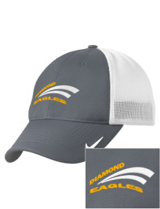 Diamond Elementary School Eagles Embroidered Nike Golf Mesh Back Cap