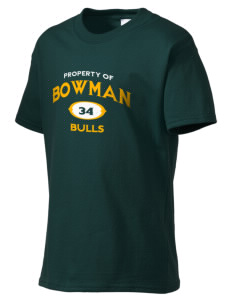 Bowman Elementary School Bulls Kid's Essential T-Shirt