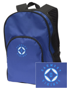 Oakmont High School Vikings Embroidered Value Backpack