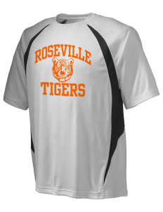 Roseville High School Tigers Champion Men's Double Dry Elevation T-Shirt