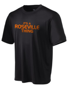 Roseville High School Tigers Champion Men's Wicking T-Shirt