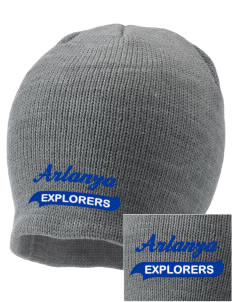 Arlanza Elementary School Explorers Embroidered Knit Cap