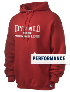 Idyllwild School Mountain Lions Russell Men's Dri-Power Hooded Sweatshirt