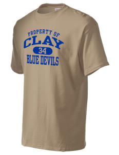 Clay High School Blue Devils Men's Essential T-Shirt