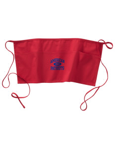 American High School Patriots Waist Apron with Pockets