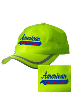 American High School Patriots  Embroidered Safety Cap