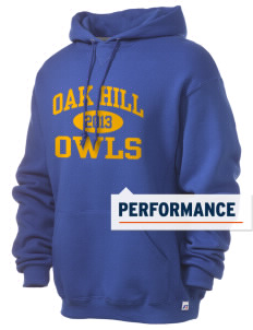 Oak Hill Elementary School Owls Russell Men's Dri-Power Hooded Sweatshirt