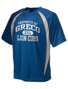 Greco Middle School Lion Cubs Champion Men's Double Dry Elevation T-Shirt