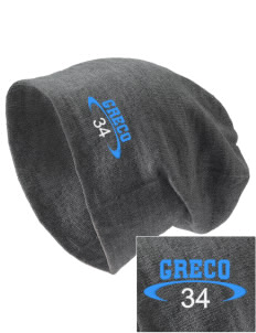 Greco Middle School Lion Cubs Embroidered Slouch Beanie
