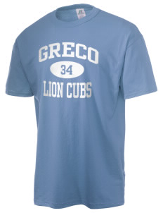 Greco Middle School Lion Cubs  Russell Men's NuBlend T-Shirt