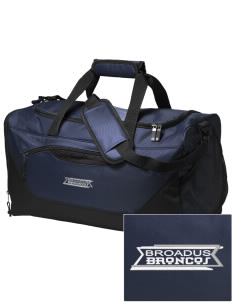 Broadus Elementary School Broncos Embroidered Holloway Chill Medium Duffel Bag