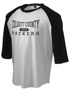 Colquitt County High School Packers Men's Baseball T-Shirt