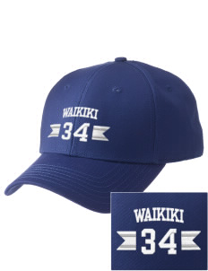 Waikiki Elementary School Waikiki Warriors  Embroidered New Era Adjustable Structured Cap