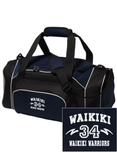 Waikiki Elementary School Waikiki Warriors Embroidered Holloway Duffel Bag