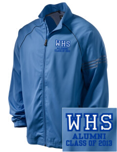 Waiakea High School Warriors Embroidered adidas Men's ClimaProof Jacket