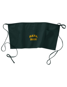 Hana High School Dragons Waist Apron with Pockets