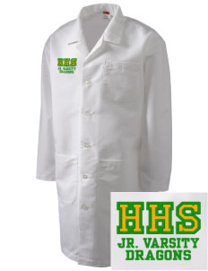 Hana High School Dragons Full-Length Lab Coat